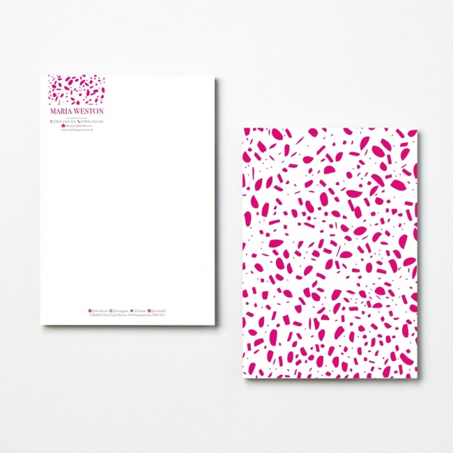 Speckled Letterheads