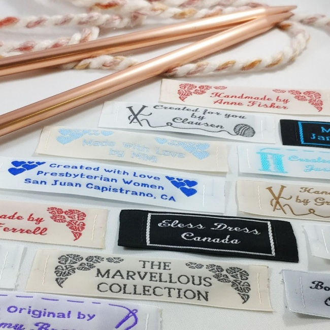 Wide Woven Craft & Hobby Labels