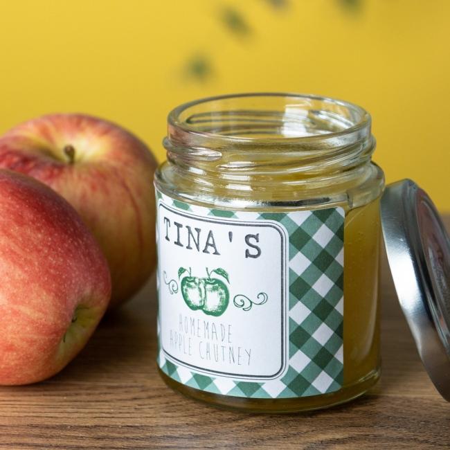 Apple - Chutney Labels