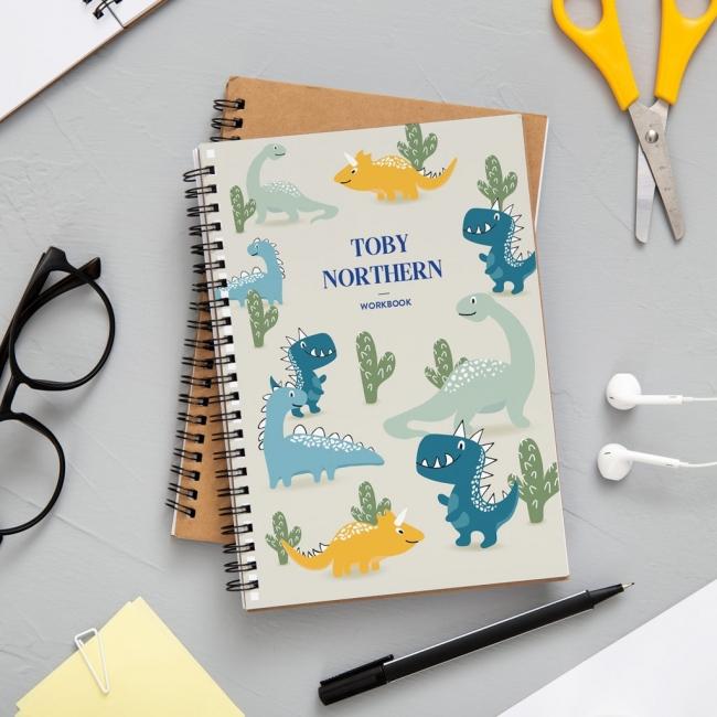 A4 Dinosaurs Notebook