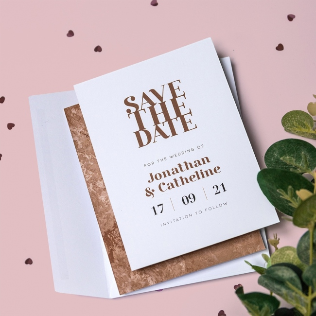 Arizona Personalised Save the Date Cards