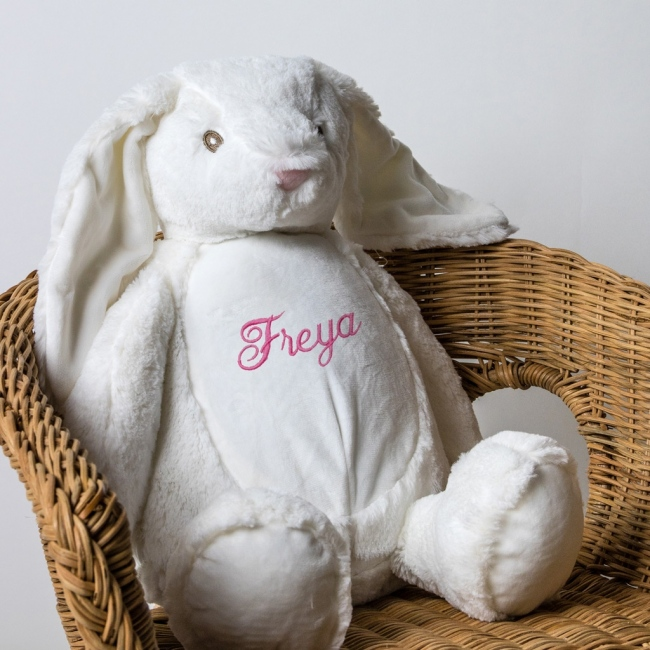 Personalised Soft Toy Rabbit