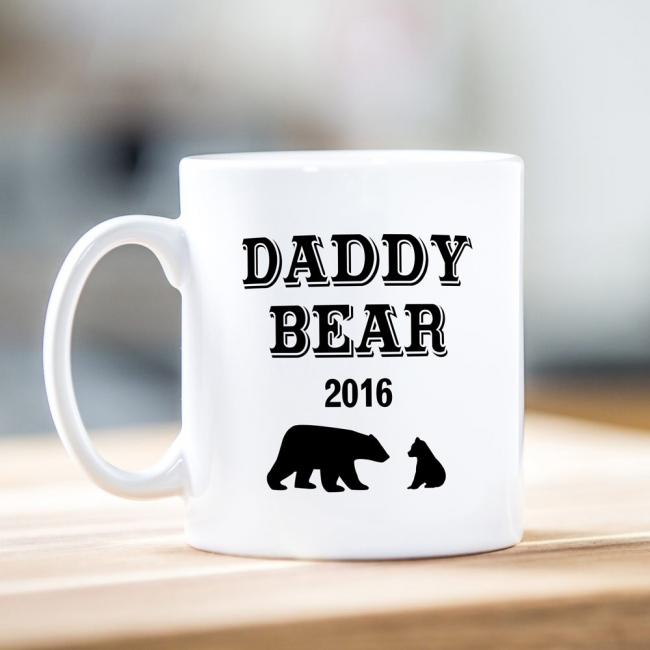 Daddy Bear Father's Day Mug