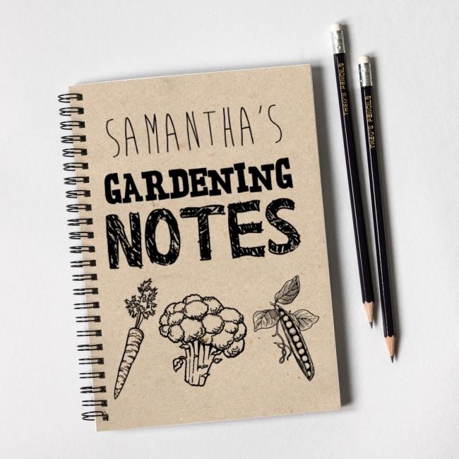 Gardening Notebook Gift Set