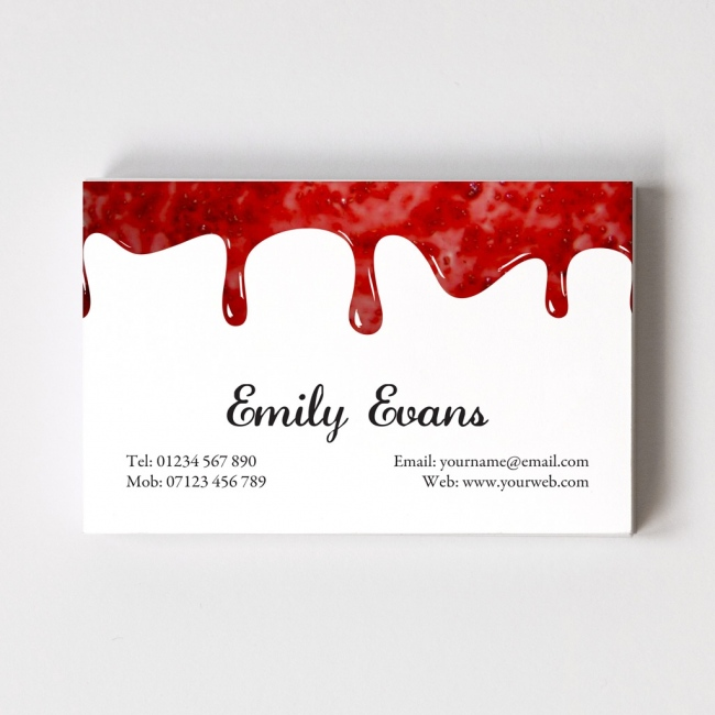 Jam Maker Templated Business Card 1