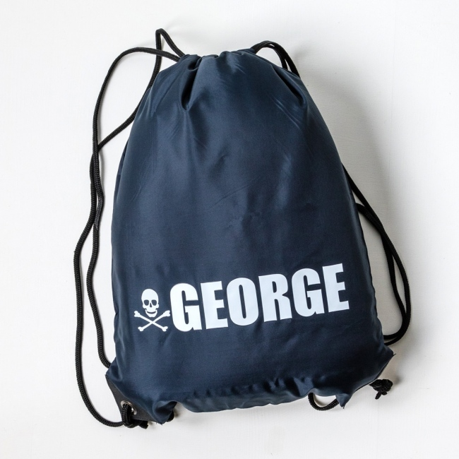 Personalised Large Name Kit Bags