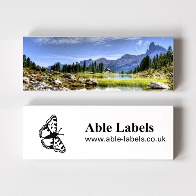 Mini Business Cards With Motif