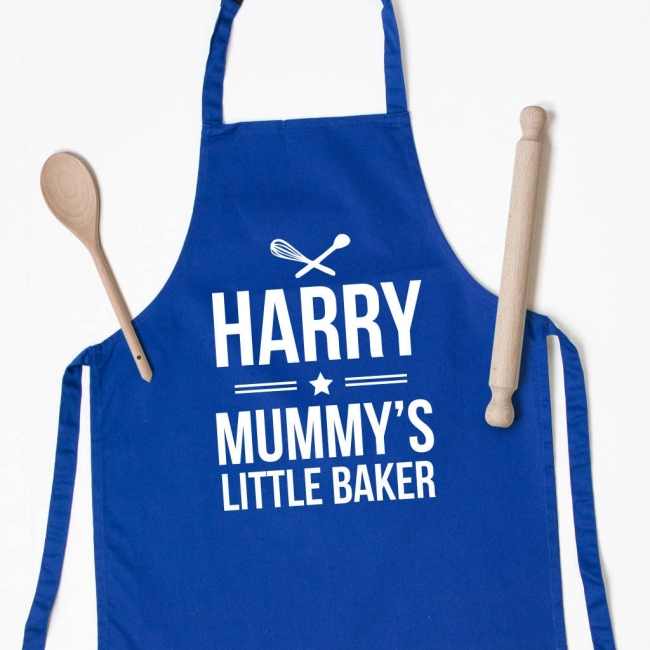 Personalised Kids Apron - Whisk & Spoon