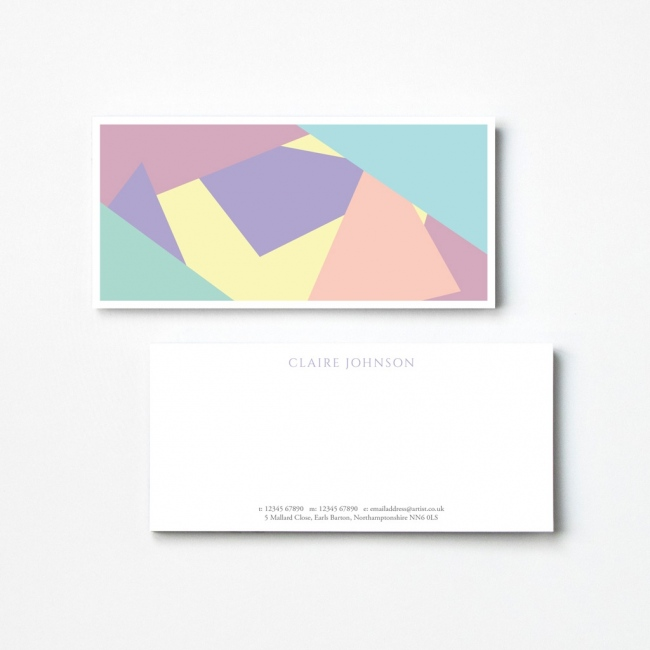 Pastel Compliment Slips