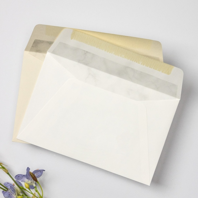 Premium Marbled Envelopes