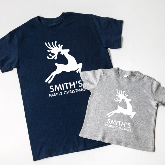 Reindeer Family T-Shirts