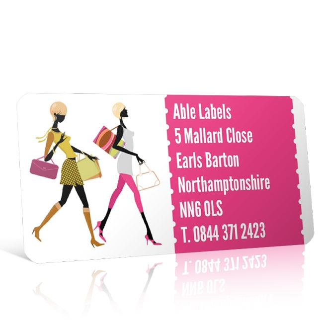 Pre Designed Fashion Address Label on A4 Sheets