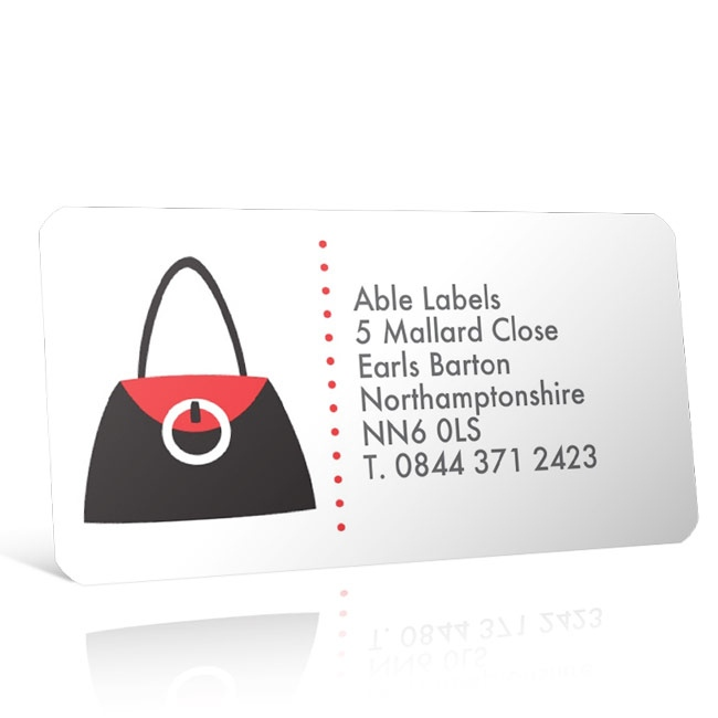 Pre Designed Handbag 1 Address Label on A4 Sheets