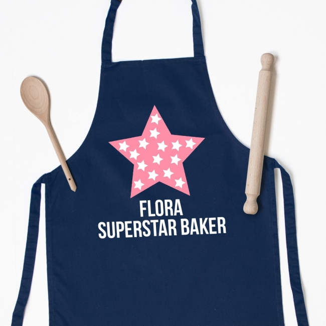 Personalised Kids Apron - Star