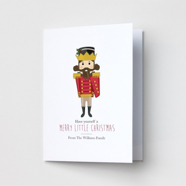 Premium Christmas Cards - Toy Soldier