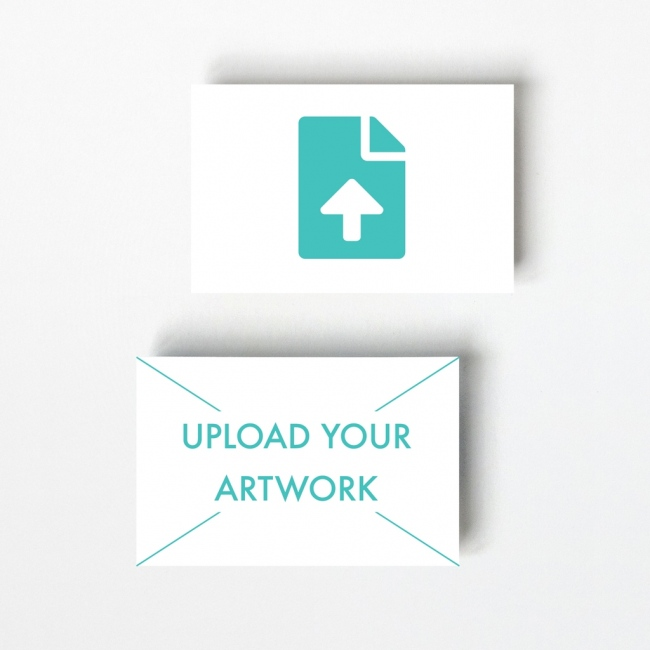 Upload Your Own Design Business Card