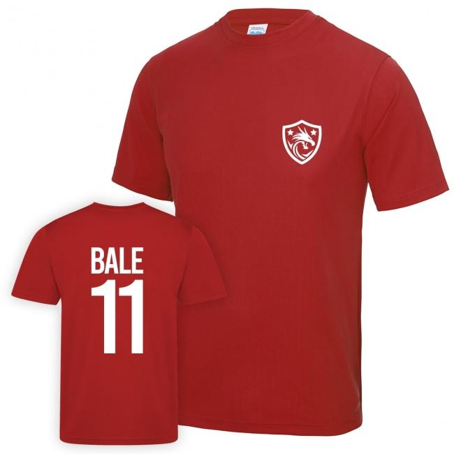 Personalised Wales Dragon Football Shirt