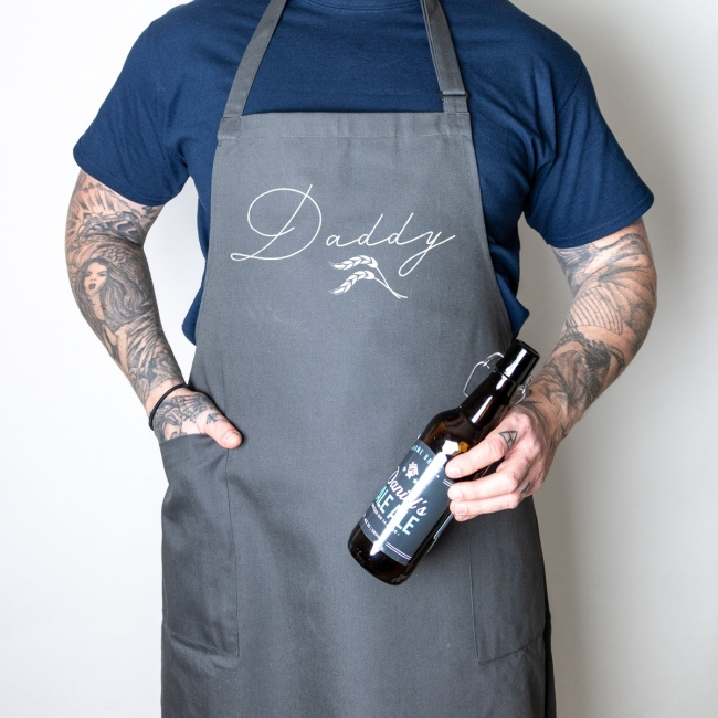 Wheafsheaf Organic Recycled Father's Day Apron