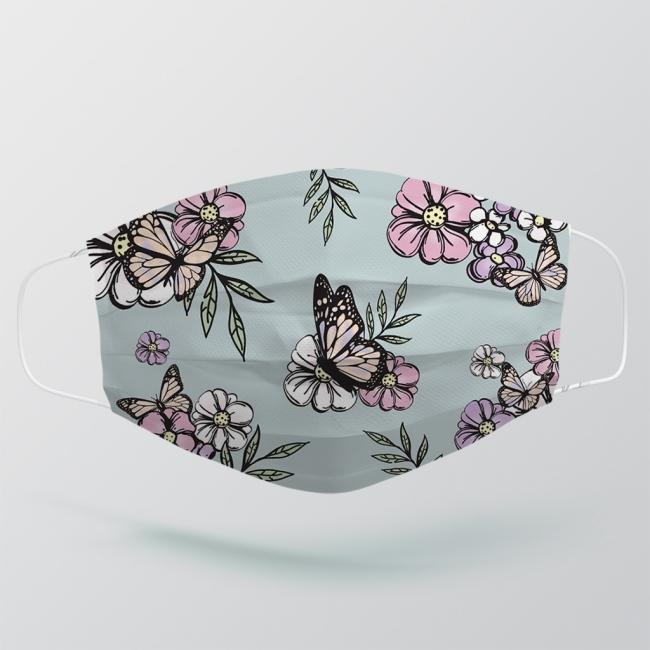 Face Mask - Floral Design