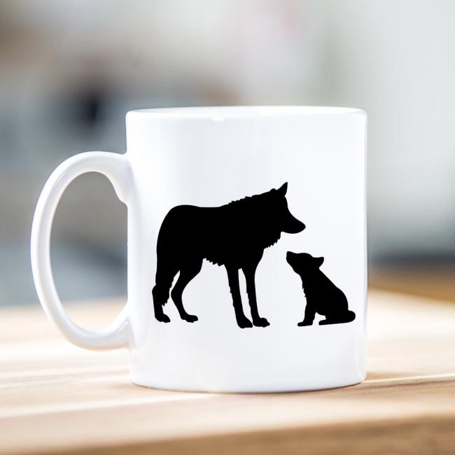 Wolf - Father's Day Ceramic Mug