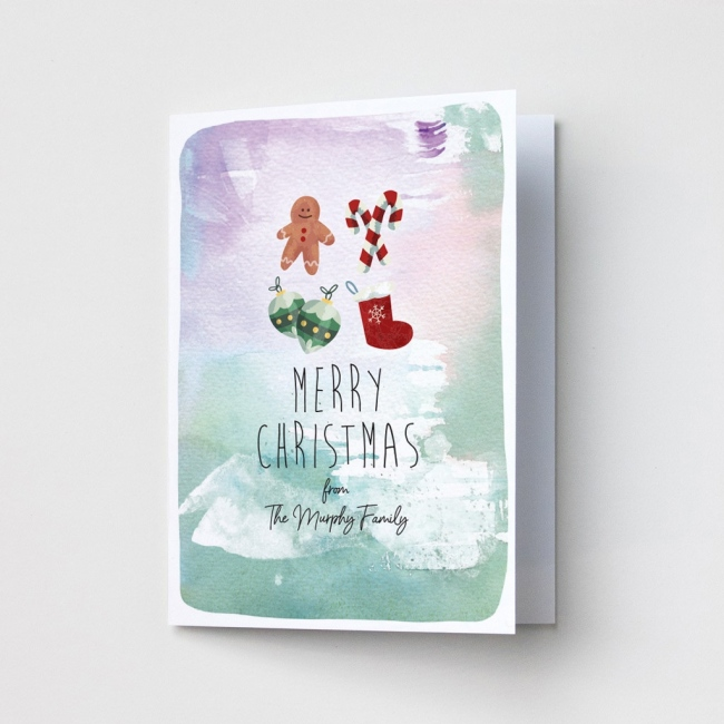 Premium Christmas Cards - Watercolour