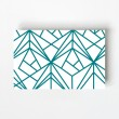 Geometric Design Business Card Front