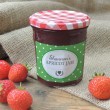 Spotty Green - Jam Jar Labels