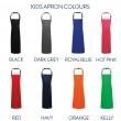 Kids Apron Colour Option