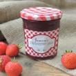 Gingham Red - Jam Jar Labels