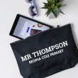 Teacher Accessory Pouch - Slab Serif