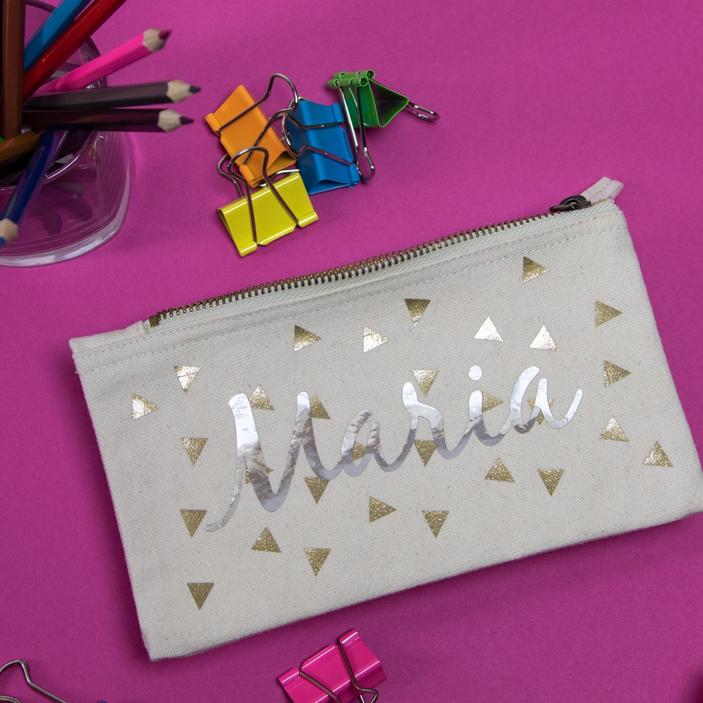 Personalised Organic Pencil Cases